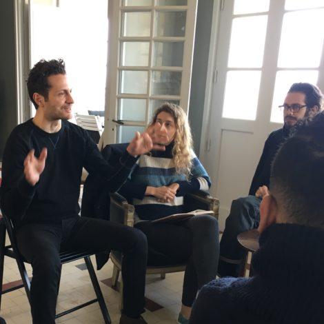 Workshops<br>Master Création littéraire