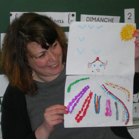 Ateliers à l'école d'Arromanches