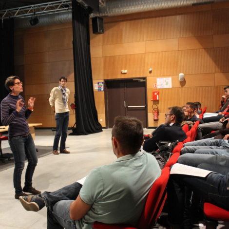Ateliers et rencontres<br>Lycée Arcisse de Caumont